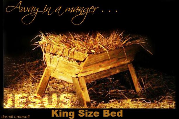 away in a manger king size bed jesus sevennotesofgrace
